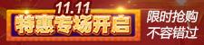 双11特惠专场开启!